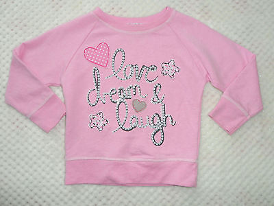 ☆Young Dimensions Primark Baby Girls Pink Long Sleeve Jumper Top 1.5-2Y 18-24M ☆