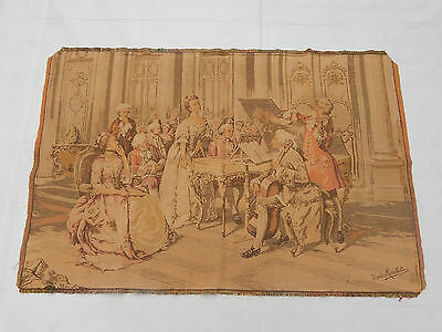 Vintage French Beautiful Scene Tapestry 113X75cm (T948)