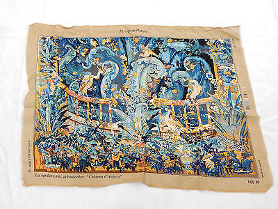 Vintage French Beautiful Scene Tapestry 129X93cm (T960)