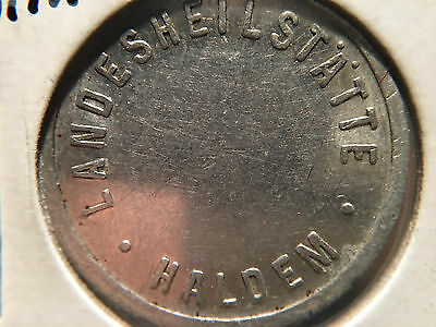 Coin Germany Landeshilstate Haldem 50 - 12x Macro Photos SEE Condition