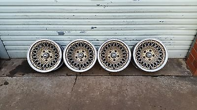 4x GENUINE FORD FALCON ROH HONEYCOMB MAG WHEELS 14 x 7 ALLOY RIMS
