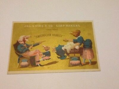 Trade Card Jas. S. Kirk & Co. Soap Makers Chicago