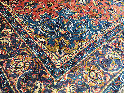 7x11 HAND KNOTTED WOVEN RUG PERSIAN IRAN WOOL AREA RUGS 7 x 11 made 6 9 10 12