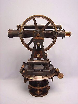 Antique Smith Beck & Beck London Surveyor's Transit Compass  Rare Attic Find