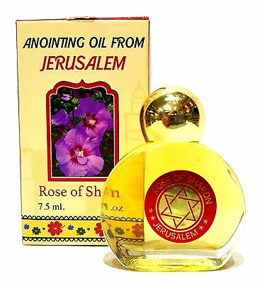 Rose Of Sharon Anointing Oil From Israel Holy Land Aromatic Biblical Oil 7.5ML