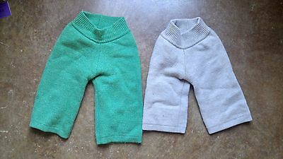 sloomb sustainablebabyish wool longies