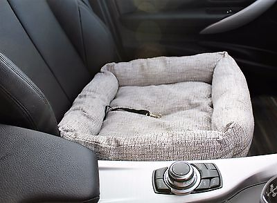 Travel Pet Dog Puppy Car Seat Bed Comfort Travel Cushion Basket Chair Protector