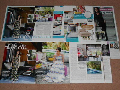 9- ROBIN TUNNEY Magazine Clippings