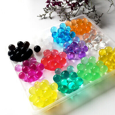 2750X Water Plant Flower Jelly Beads Crystal Mud Gel Balls Pearls Wedding Decor