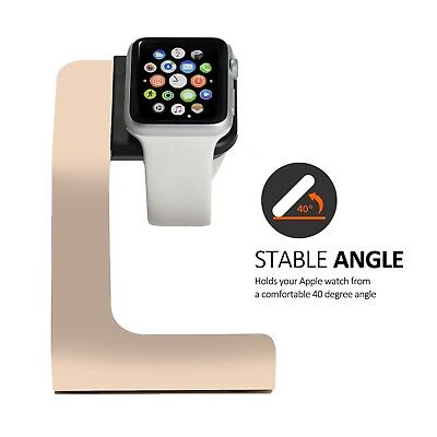 Apple Watch Stand-Tranesca Aluminum Apple watch charging stand for 38mm and 42mm
