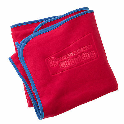 GIRLGUIDING CAMP BLANKET: Official supplier: BRAND NEW Official SOFT Fleece