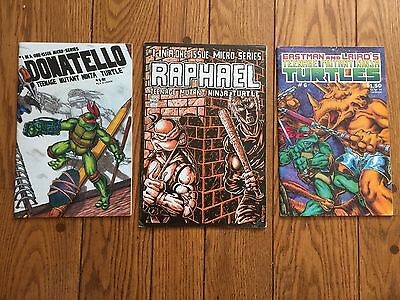 Raphael #1 Teenage Mutant Ninja Turtles (1985) 1st Casey Jones! 1st Print  Lot