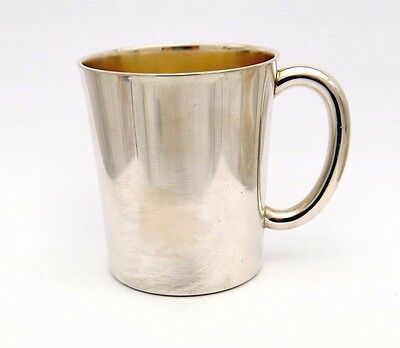 1936 European solid Sterling Silver Cup / 124