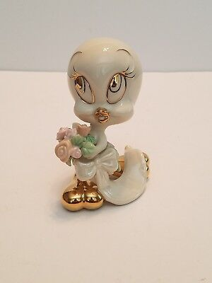 Lenox Looney Tunes TWEETY'S BOUQUET FOR YOU Figurine