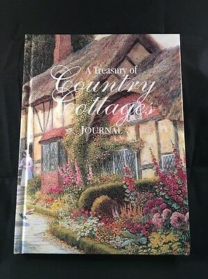 JOURNAL BOOK A treasury of County Cottages BEAUTIFUL Like New Unmarked