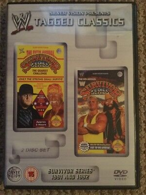 WWE Tagged Classics Survivor Series 1991 & 1992 WWF RARE