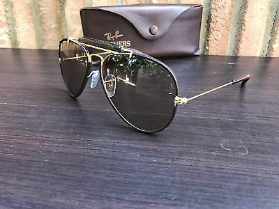 vintage occhiali ray-ban leathers bausch lomb b&l sunglasses lunette brille