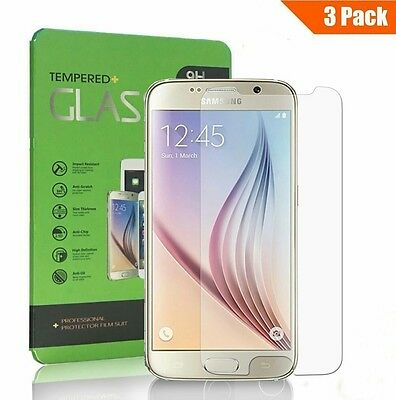 [Lot de 3] Verre Trempé Samsung Galaxy S6, Yokimico Protection écrans Film