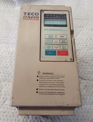 Used Teco-Westinghouse Ma7200-4005-N1 Variable Frequency Drive @b3