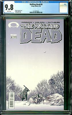 The Walking Dead #8 (May 2004, Image) CGC 9.8