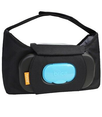 NEW BRICA Baby Stroller ORGANIZER PLUS with Cell Phone Pocket
