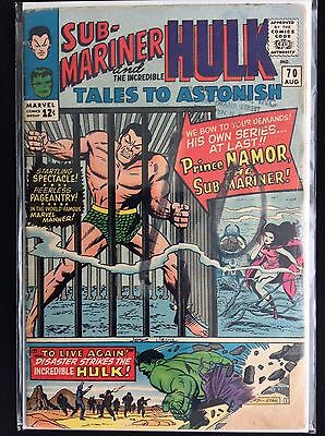 TALES TO ASTONISH #70 Lot of 1 Marvel Comic Book! • $4.95