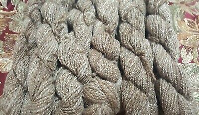 365gr handspun 8ply knitting wool crochet crafts yarn felt textiles art