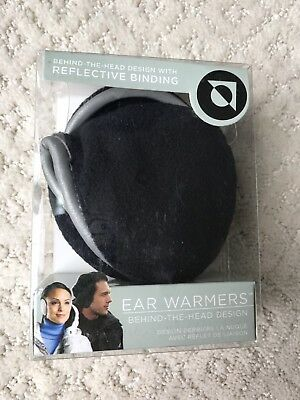 180s Degrees Behind the Head Design Ear Warmers Gray/Silver NEW