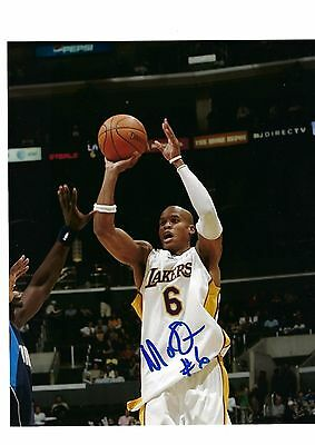 93798ff5518 Maurice Evans Auto Autographed 8X10 Photo Signed W/Coa Los Angeles Lakers