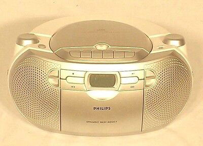 Phillips Stereo CD,Cassette, MP3 and Radio Tuner with Dynamic Bass Boost.