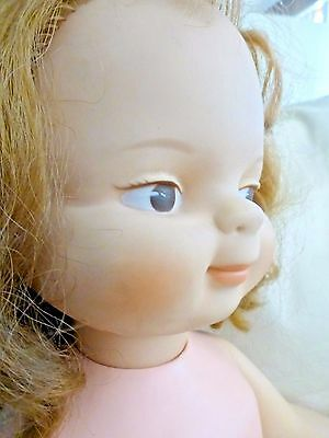 Vintage 1961 CHUCKLES DOLL American Doll & Toy Co. American Character Doll 23'