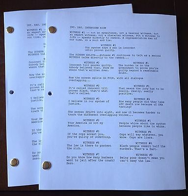 BULL TV Series 65 Page Pilot Script Starring Michael Weatherly. GREAT NEW SHOW