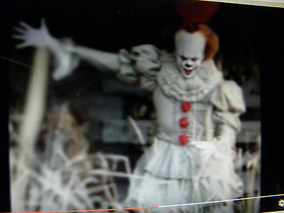 PENNYWISE EVIL CLOWN IT 2017 VERISON Costume Gloves Choose bloody OR Clean