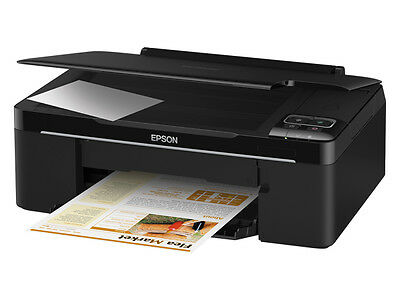 Epson Stylus NX130 4 Colour Multifunction Printer for Home or Office.