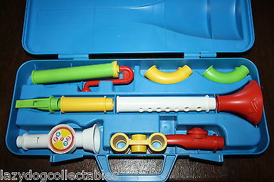 Fisher Price  Crazy Combo Horn Set 1984 Retro Toy Set Complete