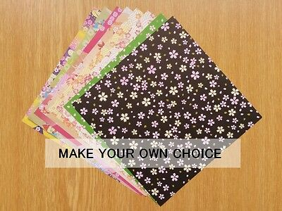 origami paper: Japanese pattern, 16sheets, 8 patterns, make your own choice