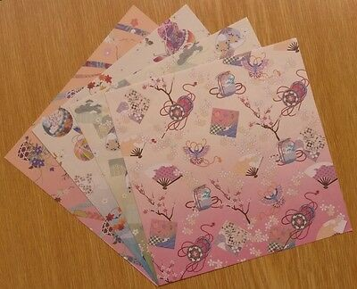 origami paper: Japanese pattern, double sided, 10sheets, 4patterns, own choice