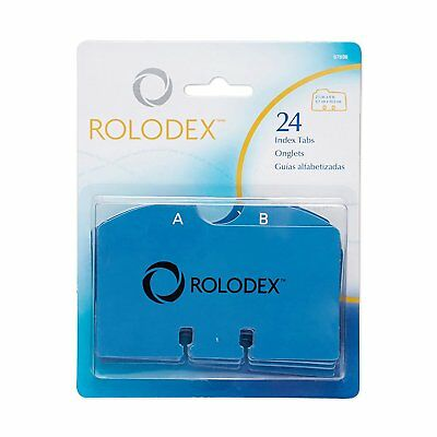 Rolodex A to Z Index Tabs 67636