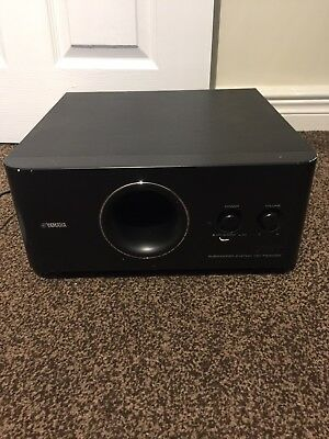 yamaha yst fsw050 powered subwoofer picclick uk. Black Bedroom Furniture Sets. Home Design Ideas