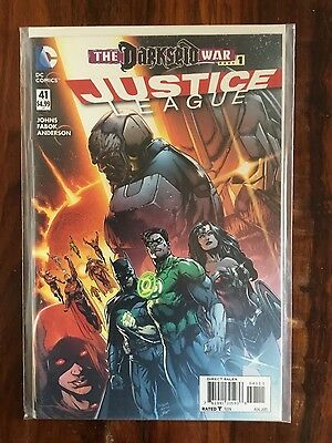 Justice League # 41 The Darkseid War part 1 1st print