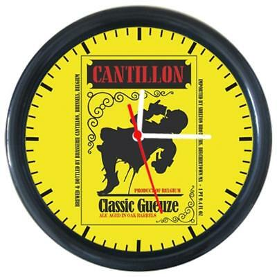 CANTILLON Cold Drinks Beverage Beer Logo Sign Round Wall Clock