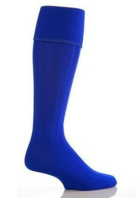 Royal Blue Football Socks Knee High Soccer Hockey Rugby Sports PESocks All Sizes
