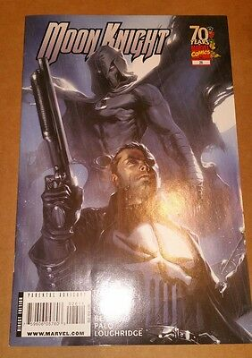 Moon Knight #26 (2009, Marvel) Vol 3 Gabriele Dell'Otto Cover with Punisher