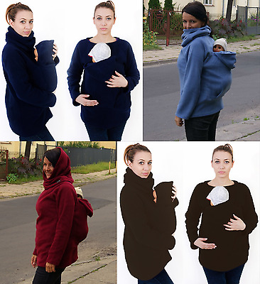 Warm Snood Reversible Back Front Babywearing Fleece Jumper Covers Meitai Sling