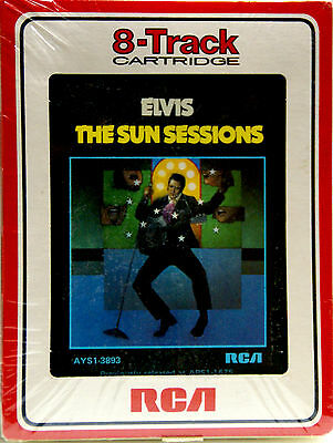 ELVIS PRESLEY The Sun Sessions  NEW SEALED 8 TRACK CARTRIDGE TAPE