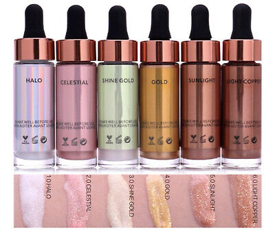 GENUINE Liquid Highlighter Make Up Highlighter Cream Concealer Shimmer Face Glow