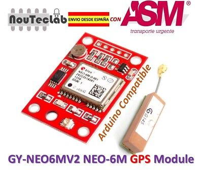 GY-NEO6MV2 NEO-6M GPS Module NEO6MV2 with Small Antenna ENVIO RAPIDO