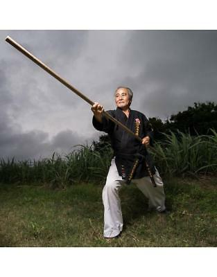 Bo - 6ft Natural Rattan Bo Staff Japanese Martial Arts Training Weapon