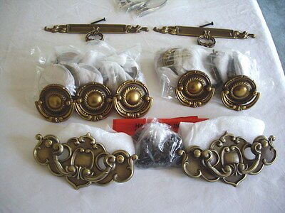 Lot of 25 & More-Solid Brass Drawer Cabinet Pulls, Handles Hardware-New! REDUCED