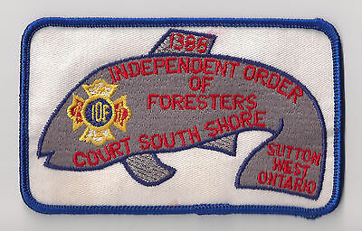 Independent Order of Foresters 1386 Sutton West Ontario Collectible Patch